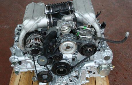 Motor Instandsetzung bei Porsche