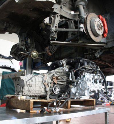 Instandsetzung des Porsche Motors