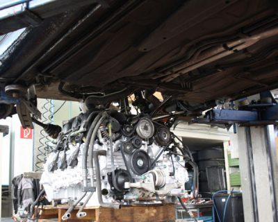 Austauschmotor bei Motor Schaden