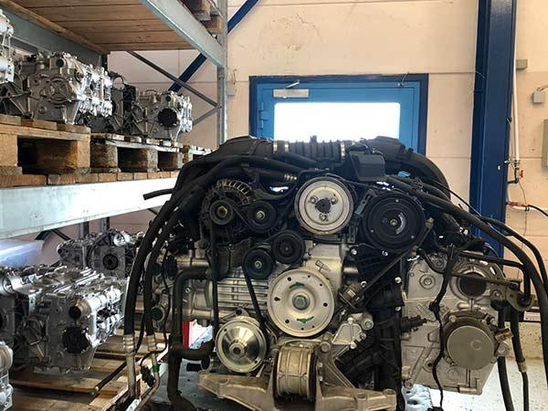 Porsche Motoren tauschen