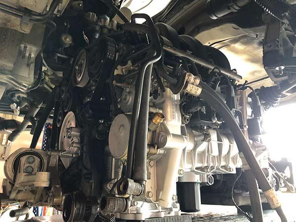 Revidieren defekter Motoren