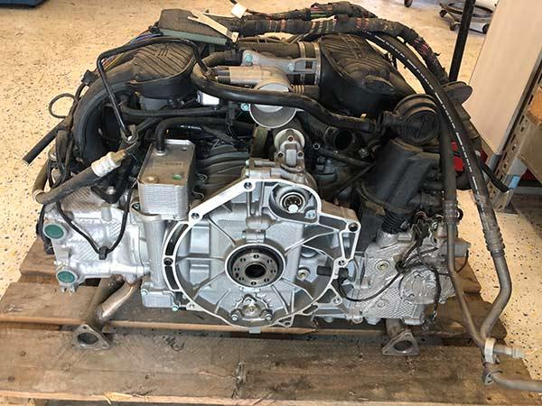 Motorinstandsetzung für Porsche